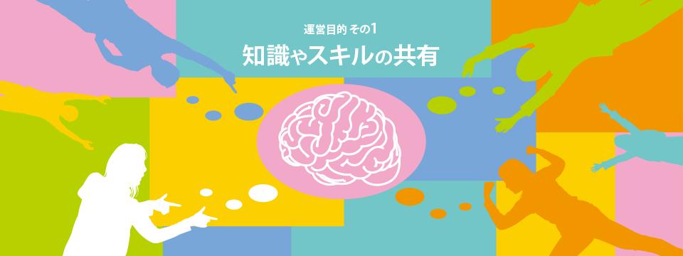 関西クリエイターズコミュの運営目的1:知識やスキルの共有